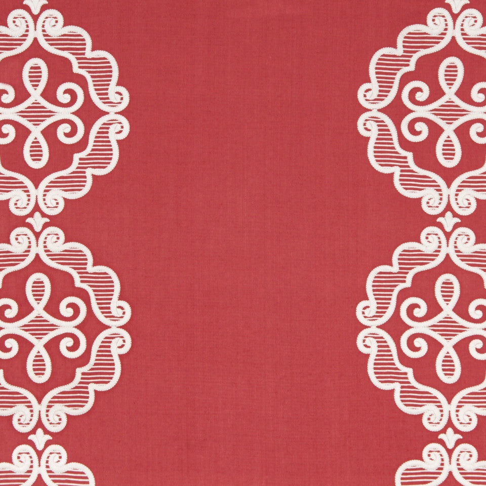 Rue Royale Fabric - Coral