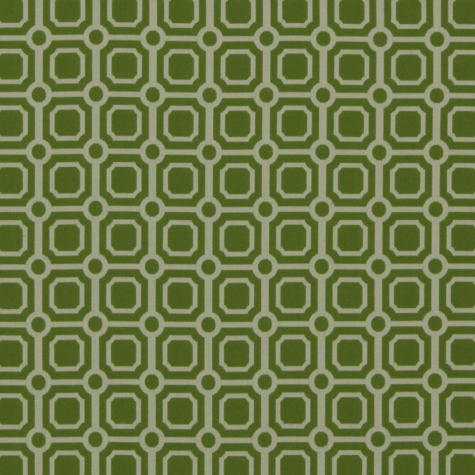 DWELLSTUDIO MODERN BUNGALOW Palm Canyon Fabric - Lime
