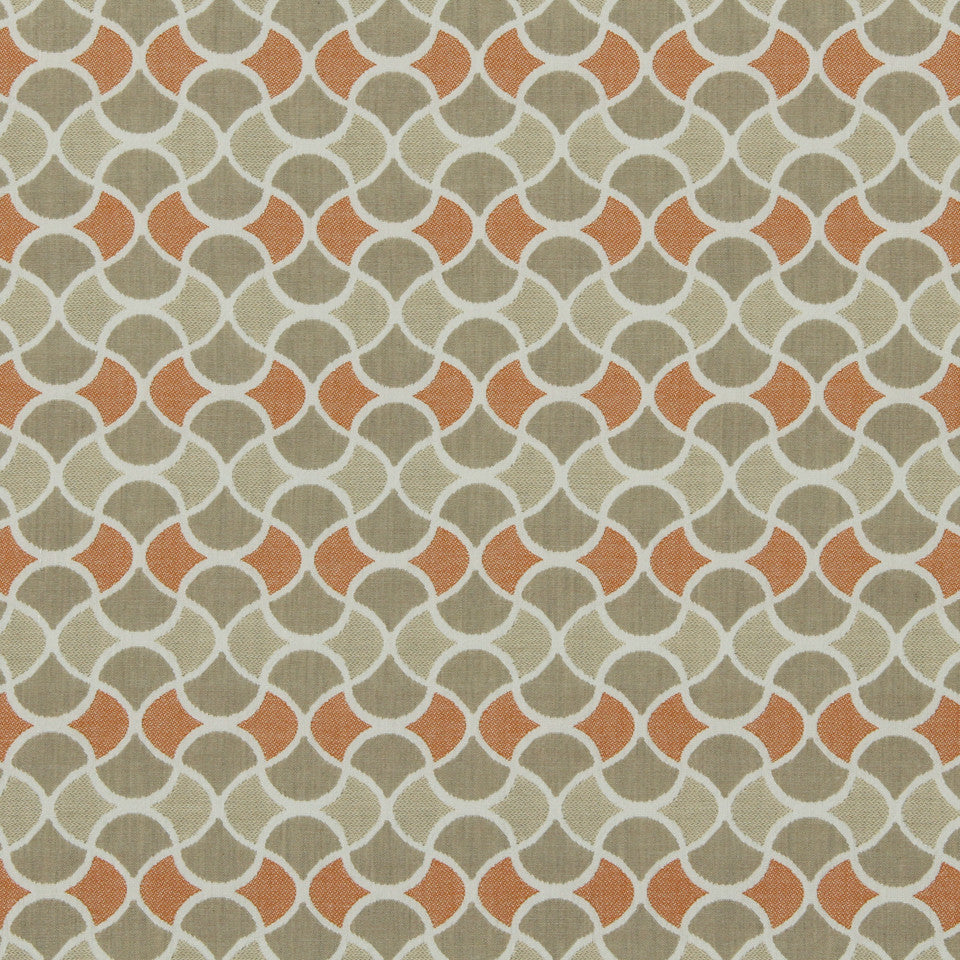 DWELLSTUDIO MODERN BUNGALOW Carrington Fabric - Birch