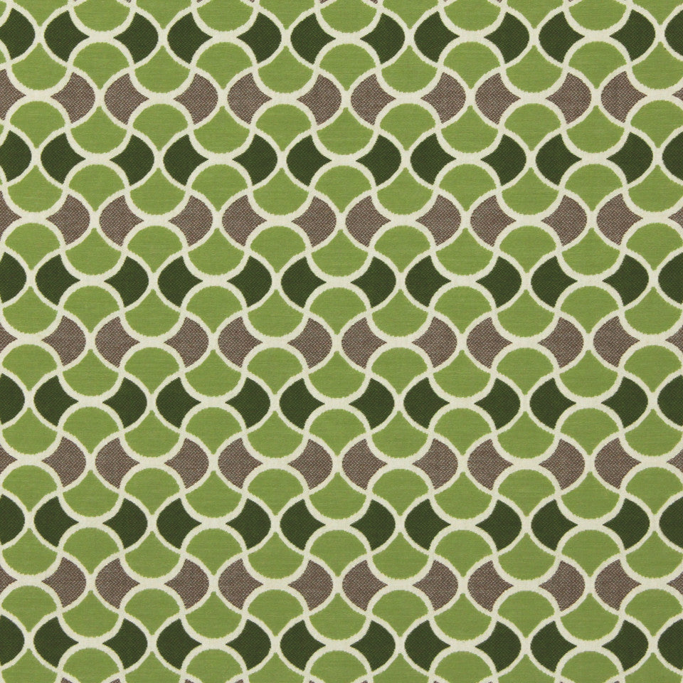 DWELLSTUDIO MODERN BUNGALOW Carrington Fabric - Lime