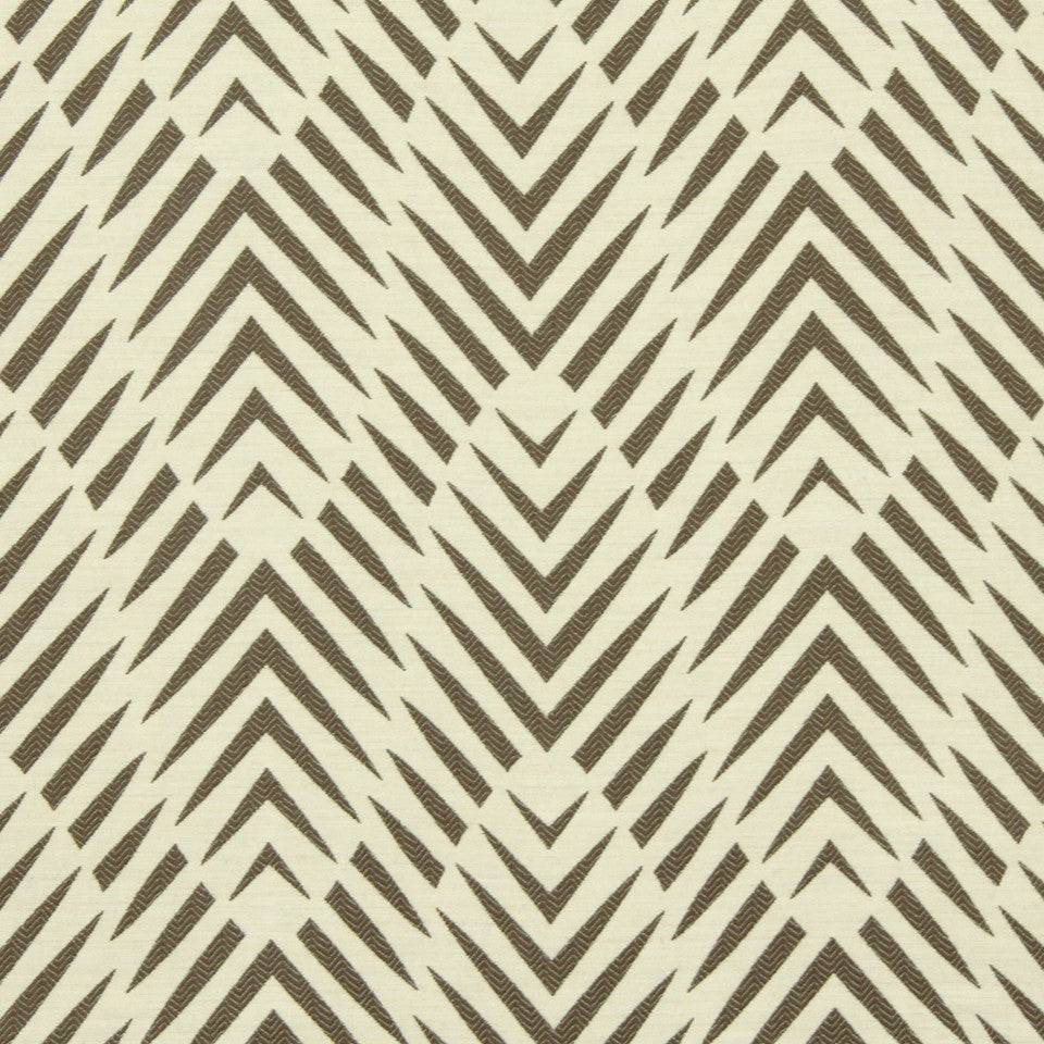 DWELLSTUDIO MODERN BUNGALOW Palmwood Fabric - Birch