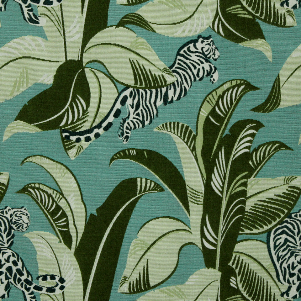 DWELLSTUDIO MODERN BUNGALOW Jungalow Fabric - Lime