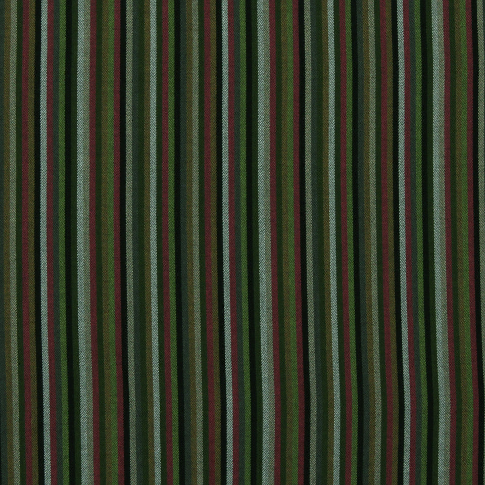 DWELLSTUDIO MODERN BUNGALOW Striped Affair Fabric - Jet