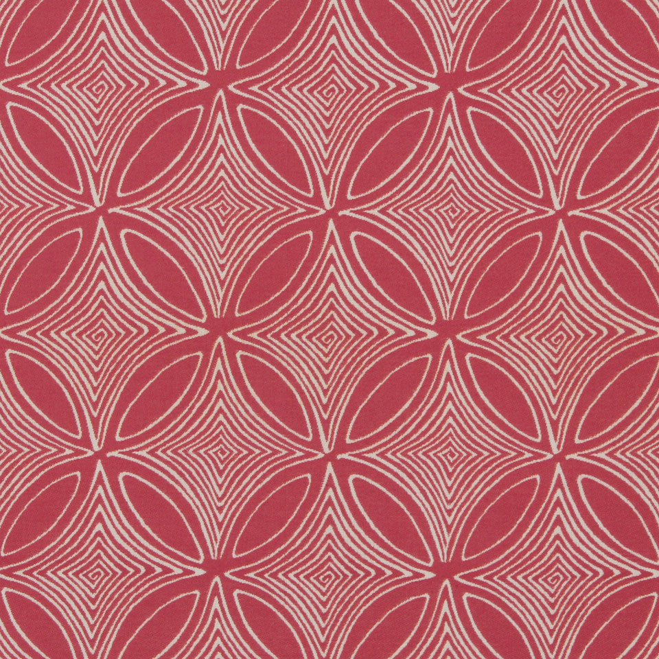 DWELLSTUDIO MODERN BUNGALOW Desert View Fabric - Fuchsia