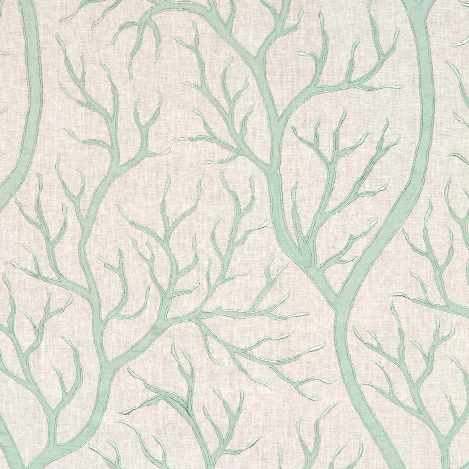 MINT Staghorn Coral Fabric - Mint