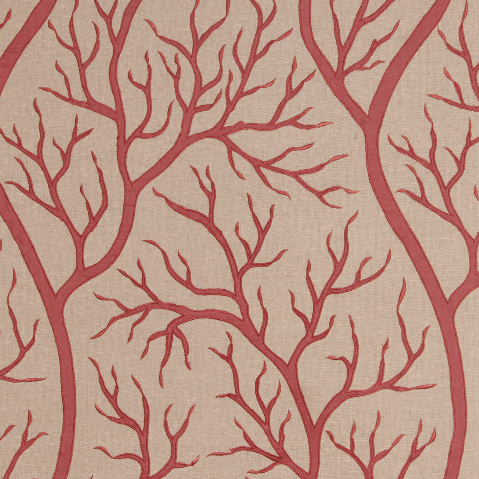 CORAL Staghorn Coral Fabric - Coral