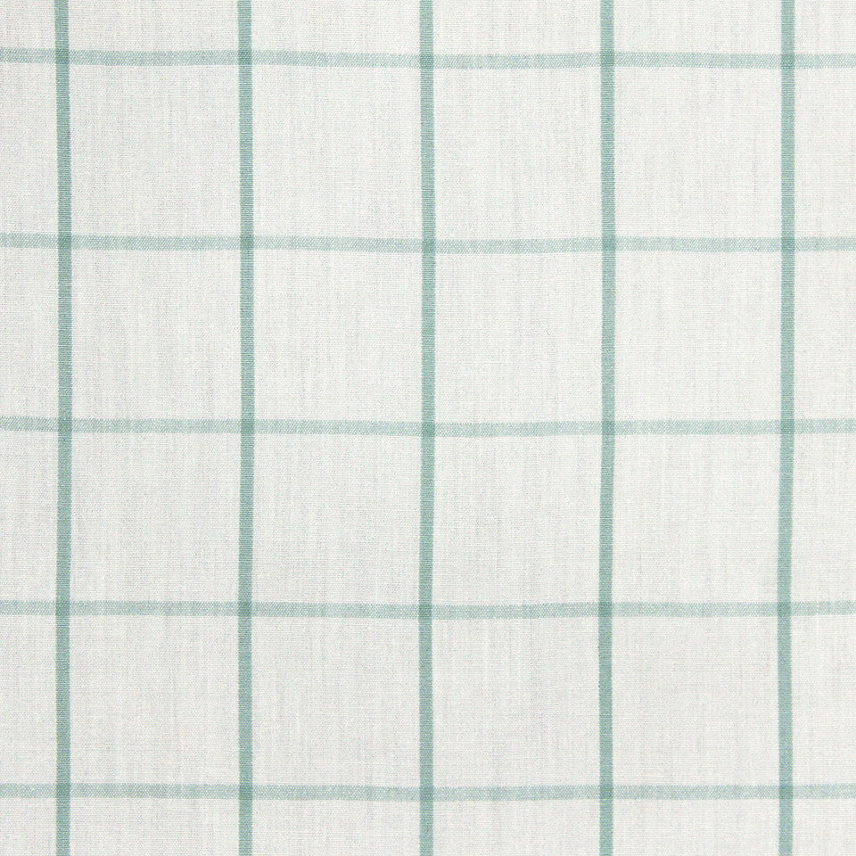 MINT Linseed Plaid Fabric - Mint