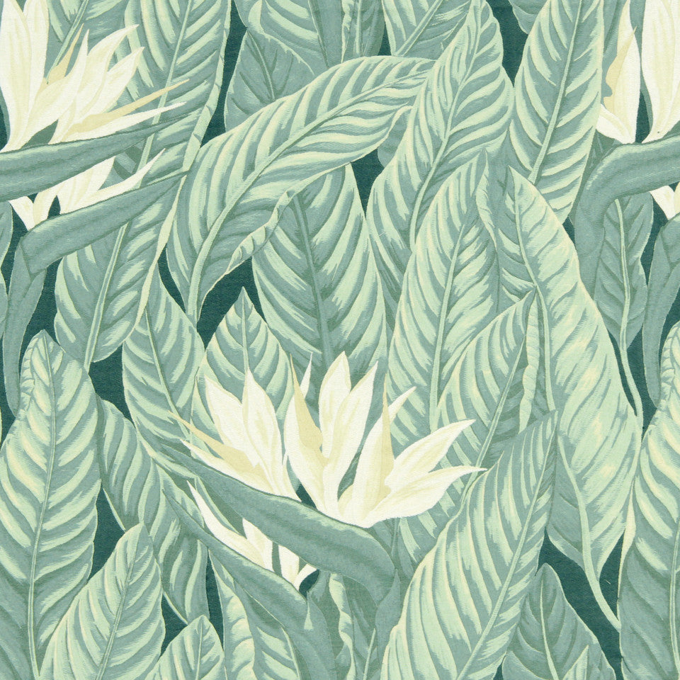 MINT Paradise Frond Fabric - Mint