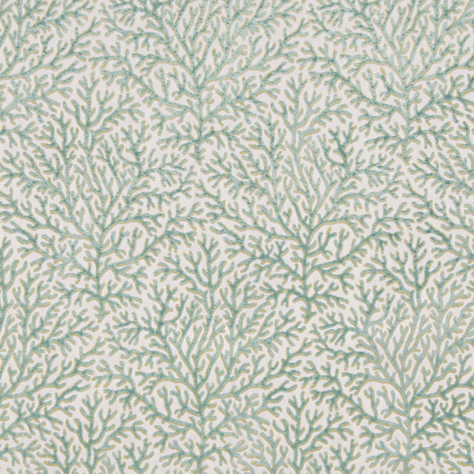 MINT Sea Fan Fabric - Mint