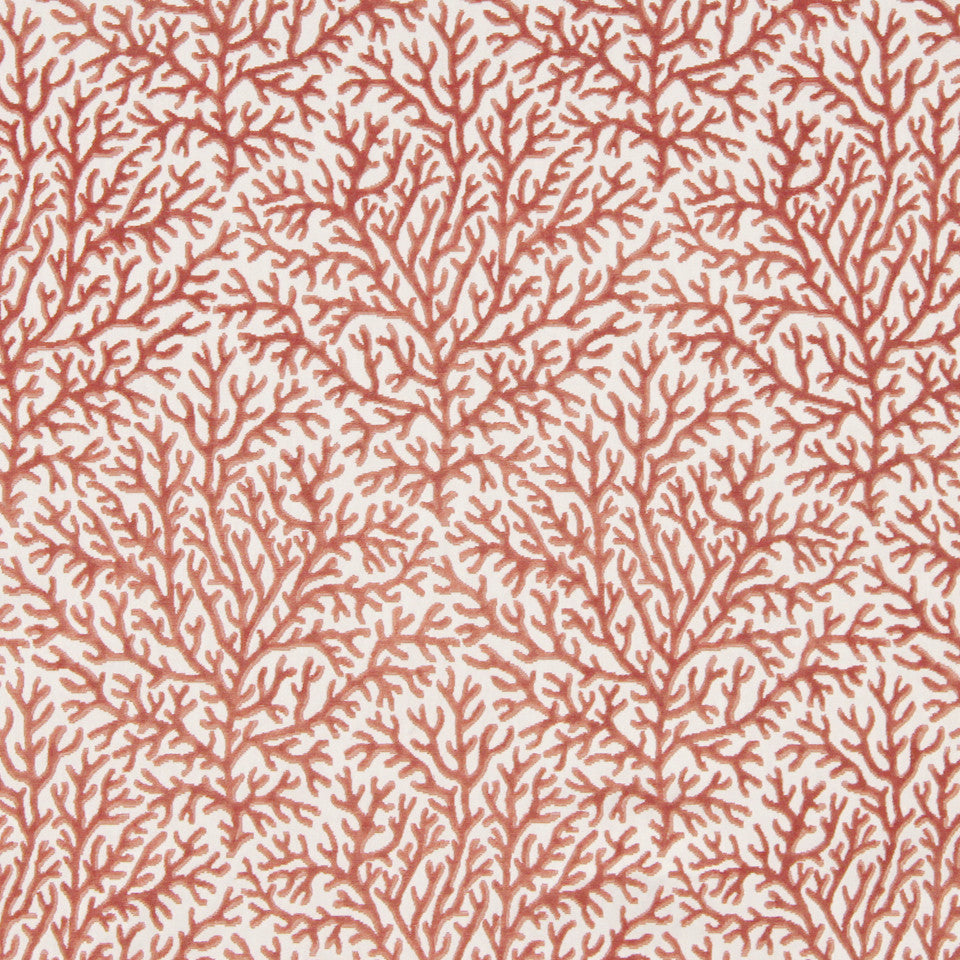 CORAL Sea Fan Fabric - Coral
