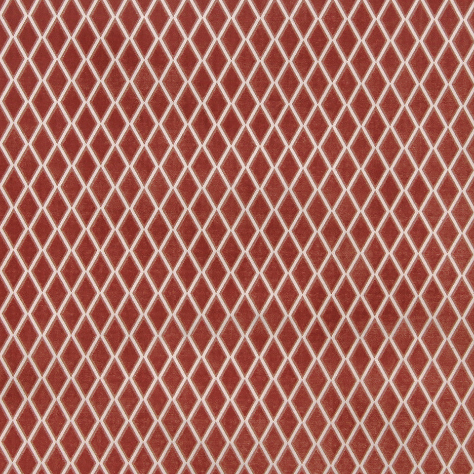 CORAL Sweet Bay Fabric - Coral