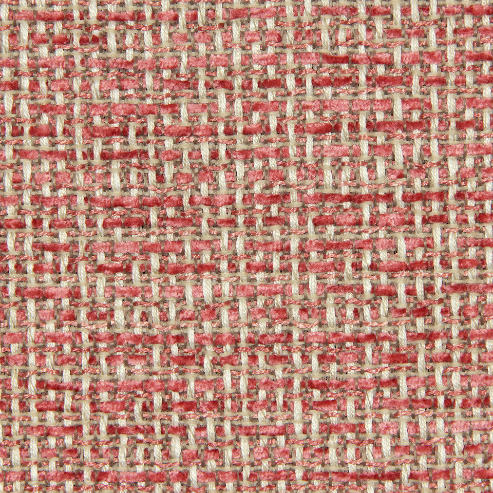 CORAL Inner Weave Fabric - Coral