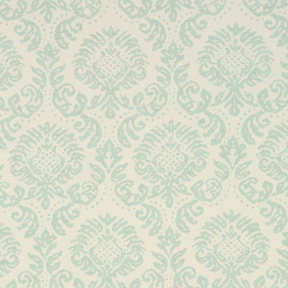 MINT Anemone Frame Fabric - Mint