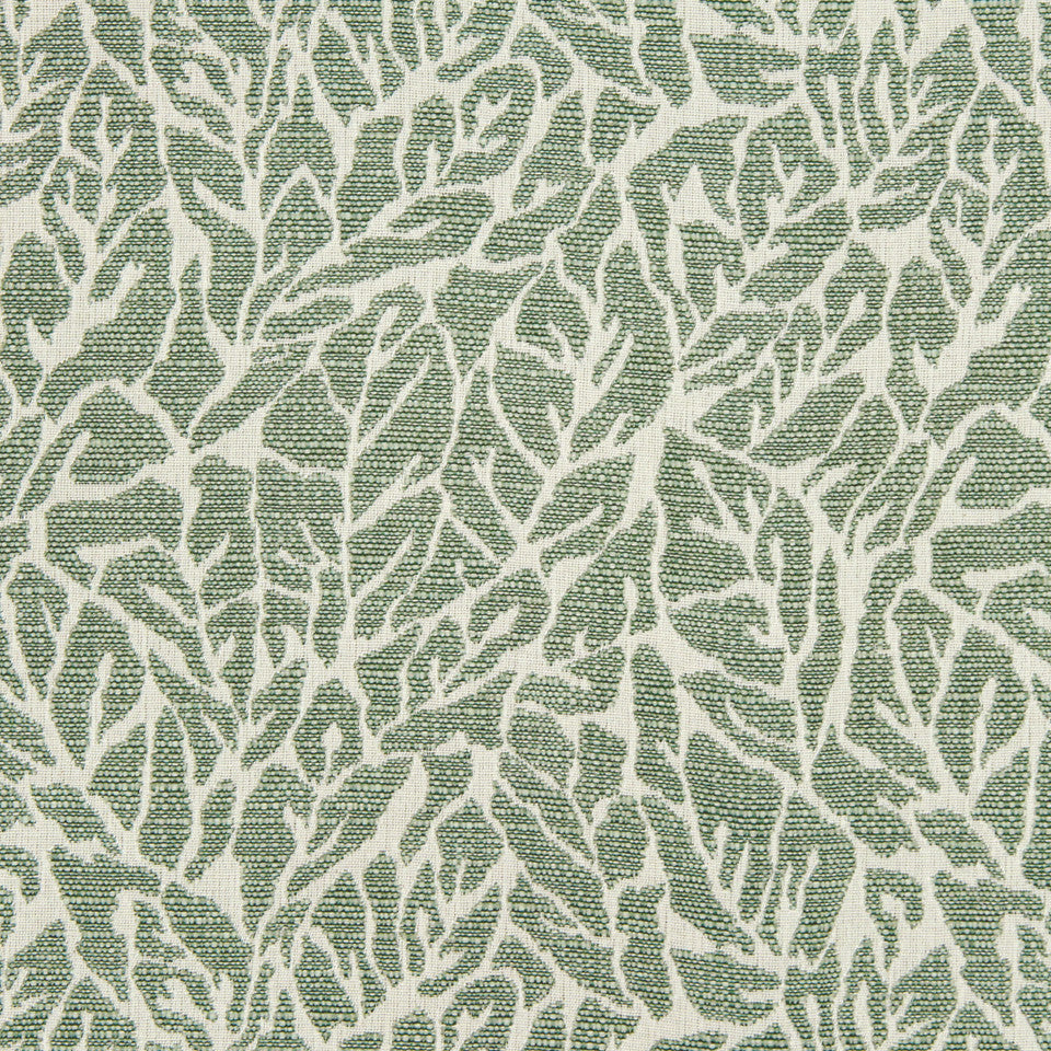 MINT Banana Leaf Fabric - Mint