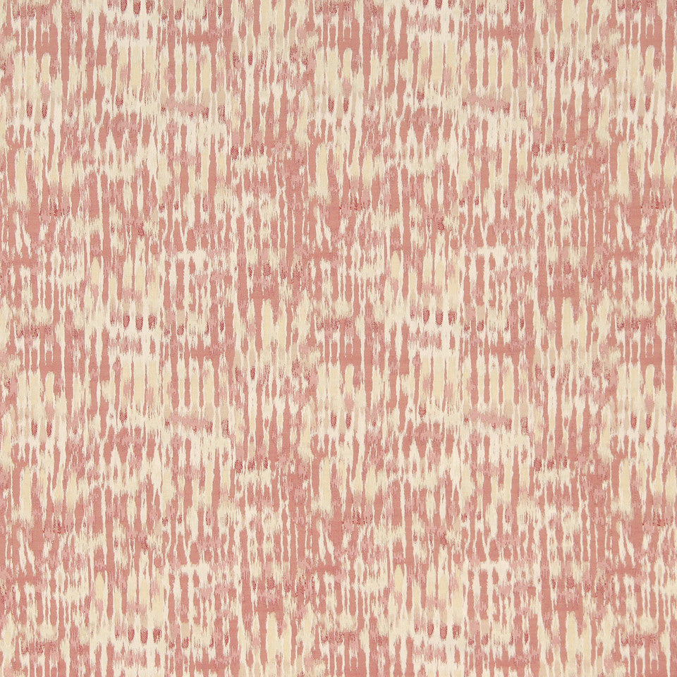 CORAL Monsoon Weave Fabric - Coral