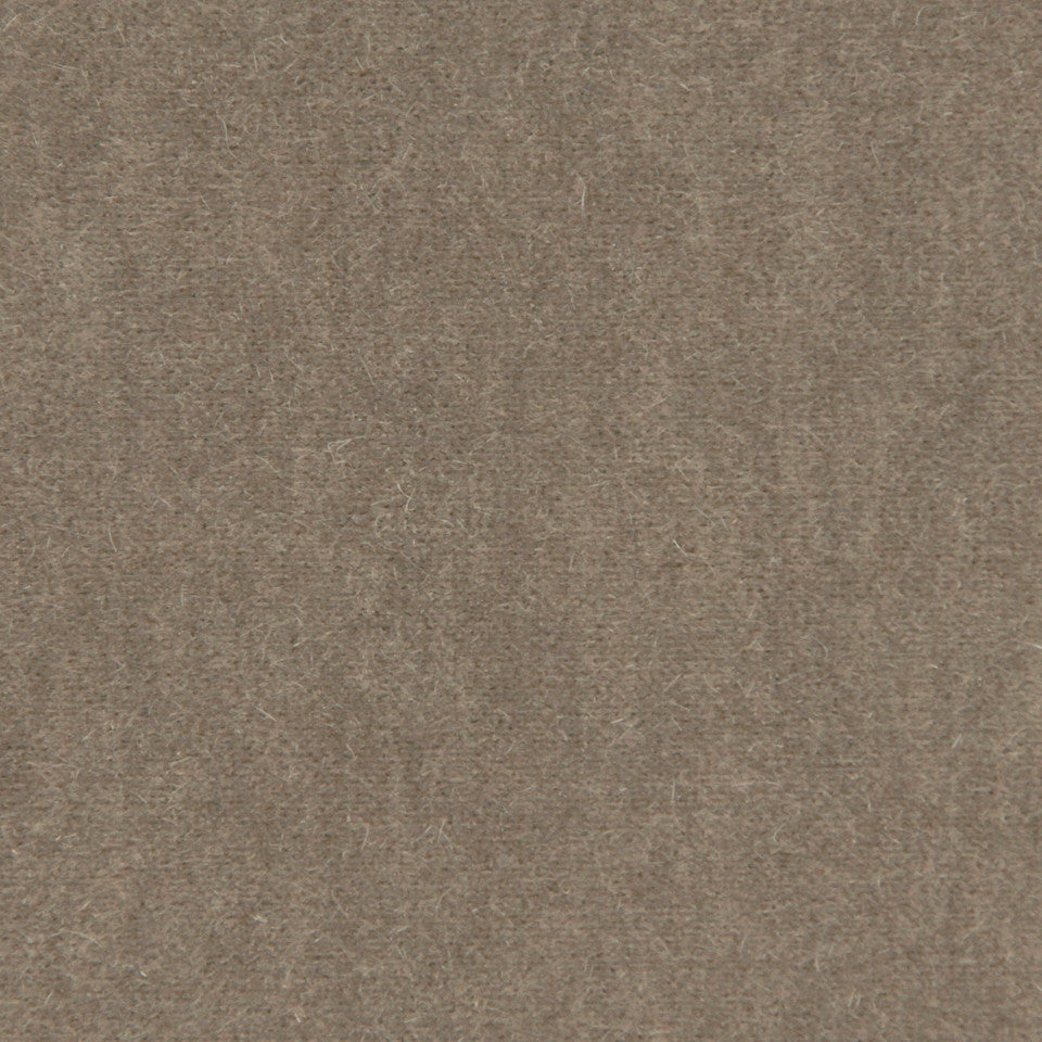 LUXURY MOHAIR III Plush Mohair Fabric - Brownstone