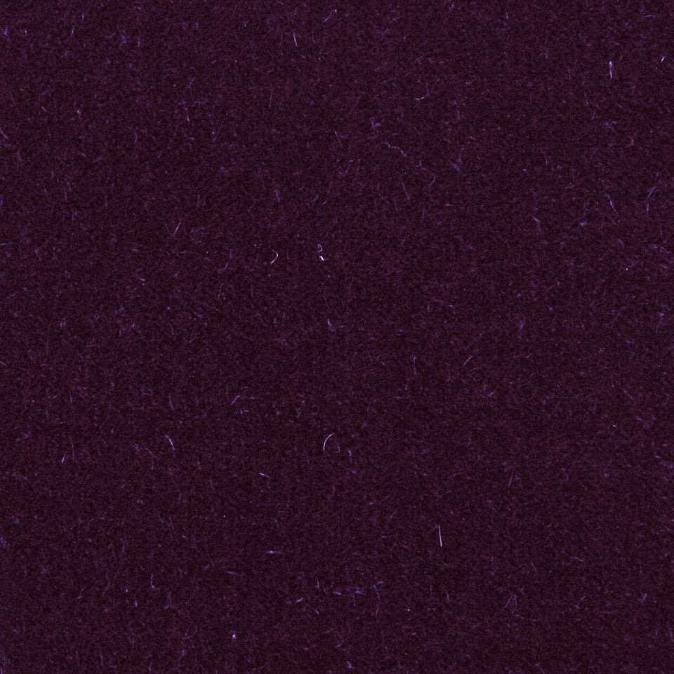 LUXURY MOHAIR III Plush Mohair Fabric - Dark Purple