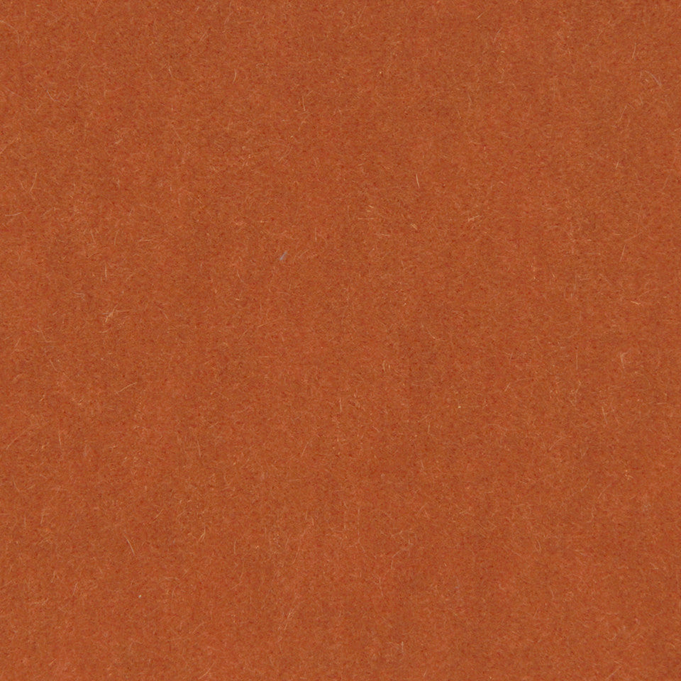 LUXURY MOHAIR III Plush Mohair Fabric - Burnt Orange