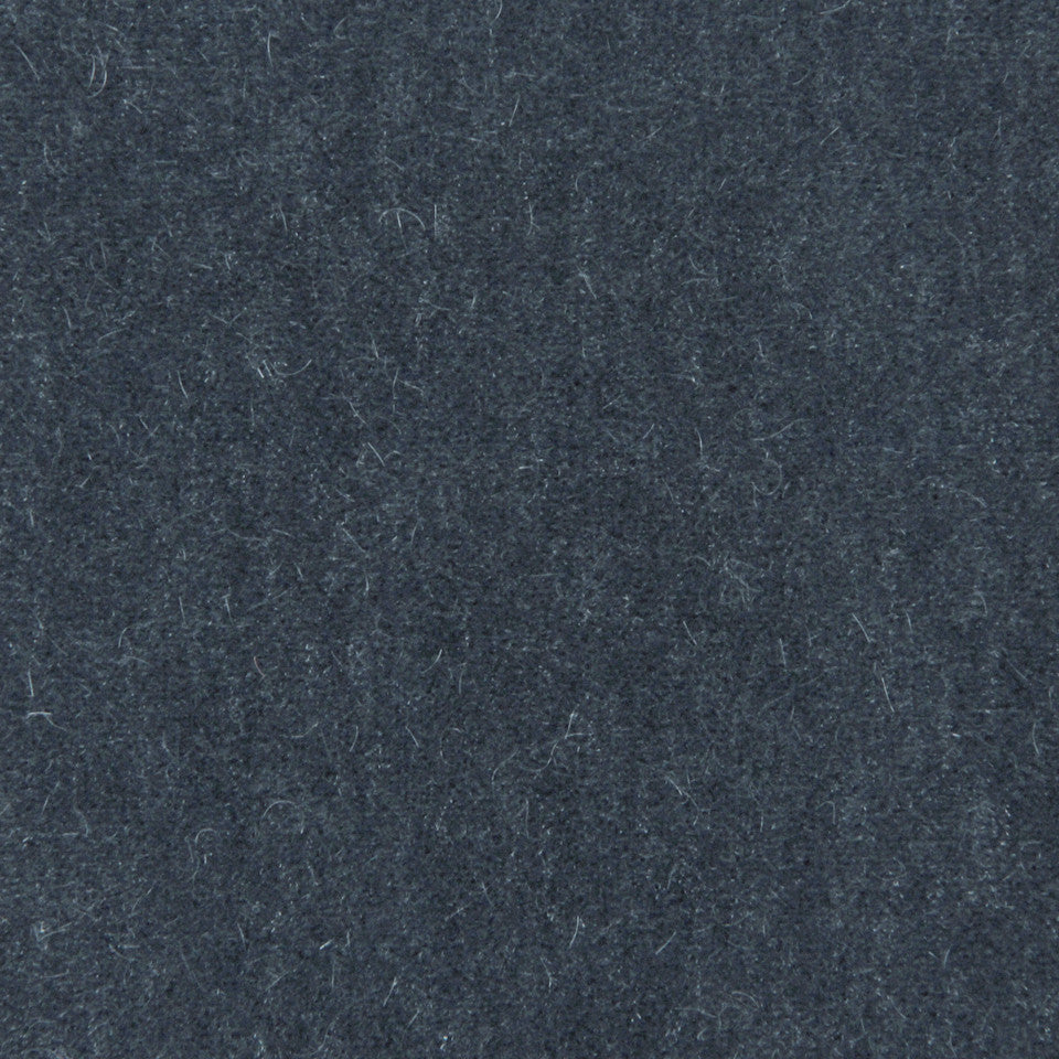 LUXURY MOHAIR III Plush Mohair Fabric - Coal