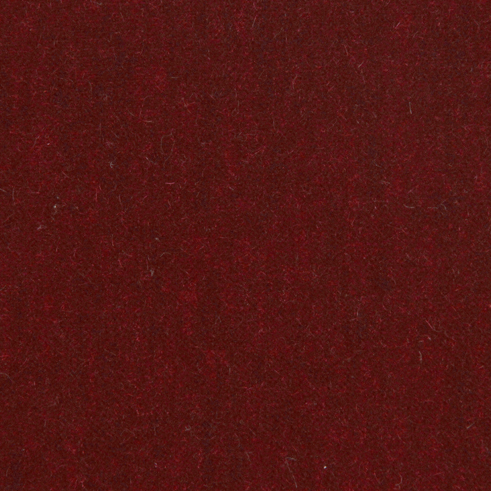 LUXURY MOHAIR III Plush Mohair Fabric - Scarlet