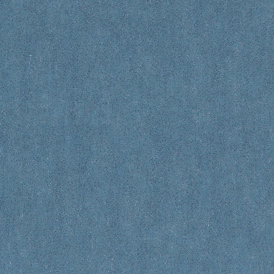 LUXURY MOHAIR III Plush Mohair Fabric - Moon Blue