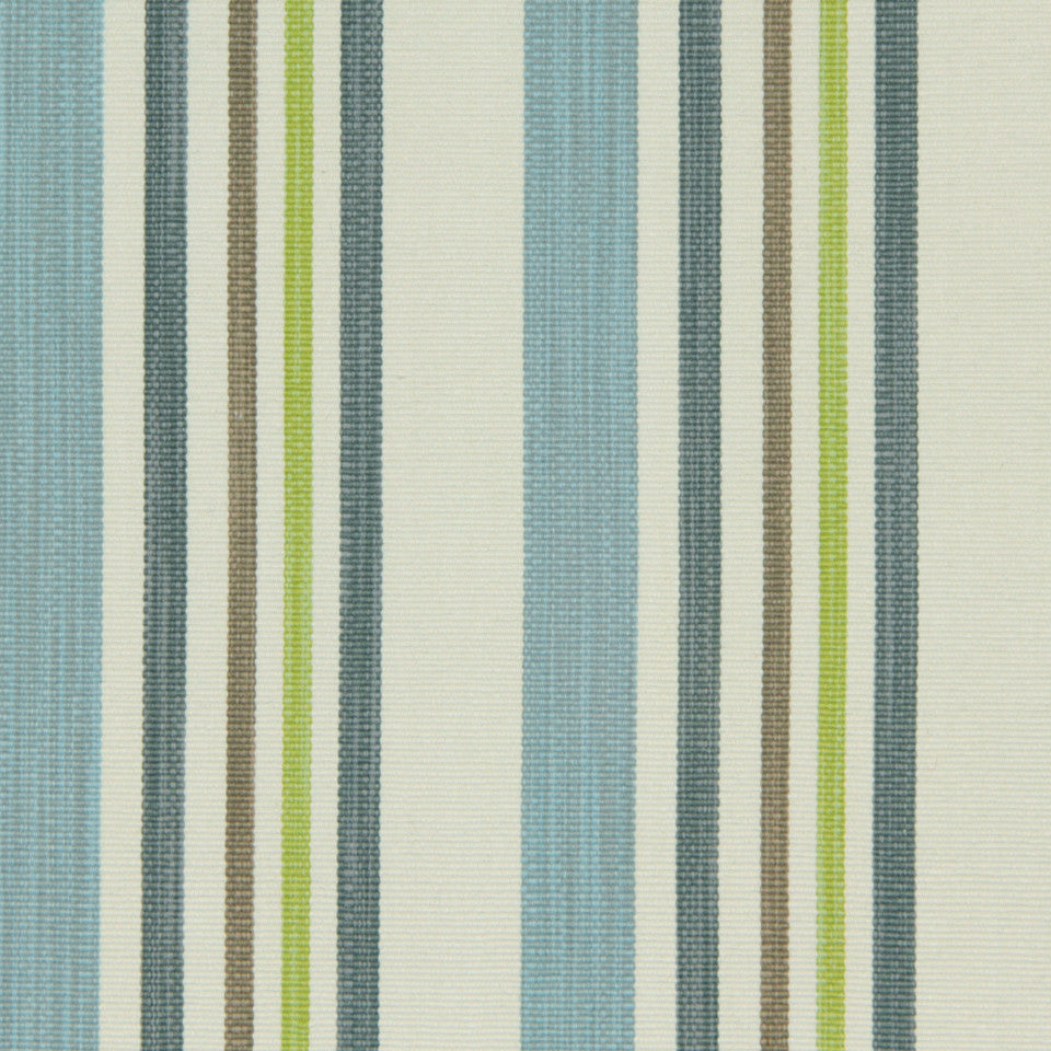 LEMONGRASS-DEW-CORNFLOWER Meadow Place Fabric - Rain