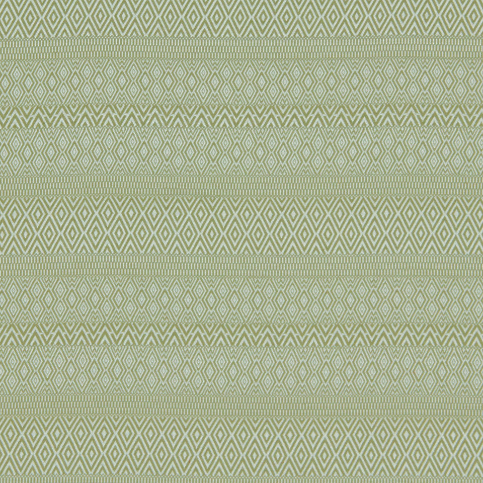 LEMONGRASS-DEW-CORNFLOWER Bunker Hill Fabric - Lemongrass