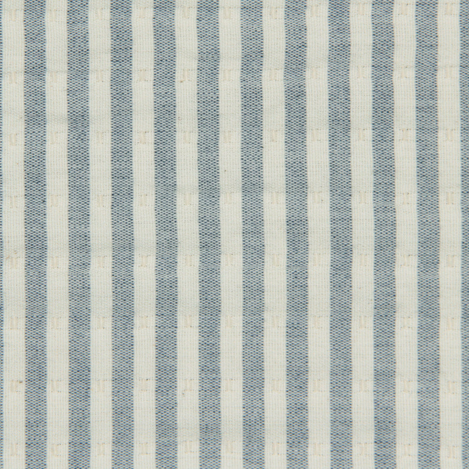 LEMONGRASS-DEW-CORNFLOWER Front Row Fabric - Mineral