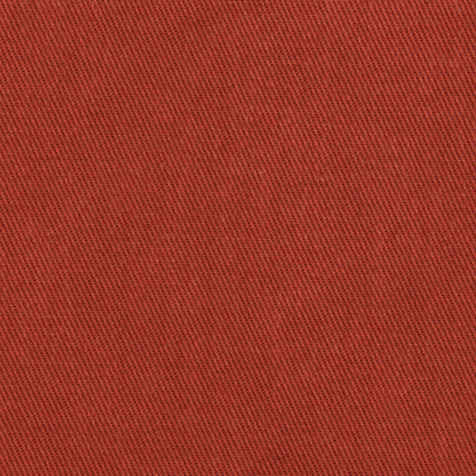 COTTON SOLIDS Basic Scene Fabric - Red Earth