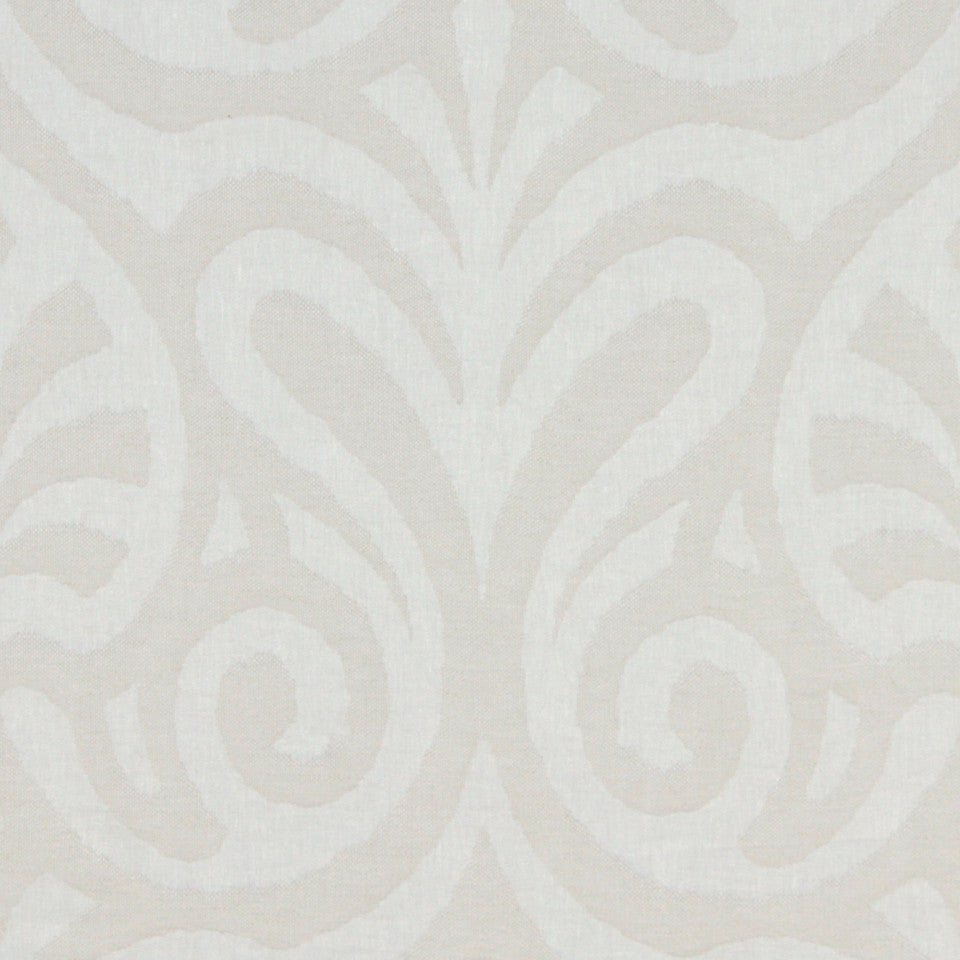 Decorative Drapery Warm Colors Aledo Fabric - Linen