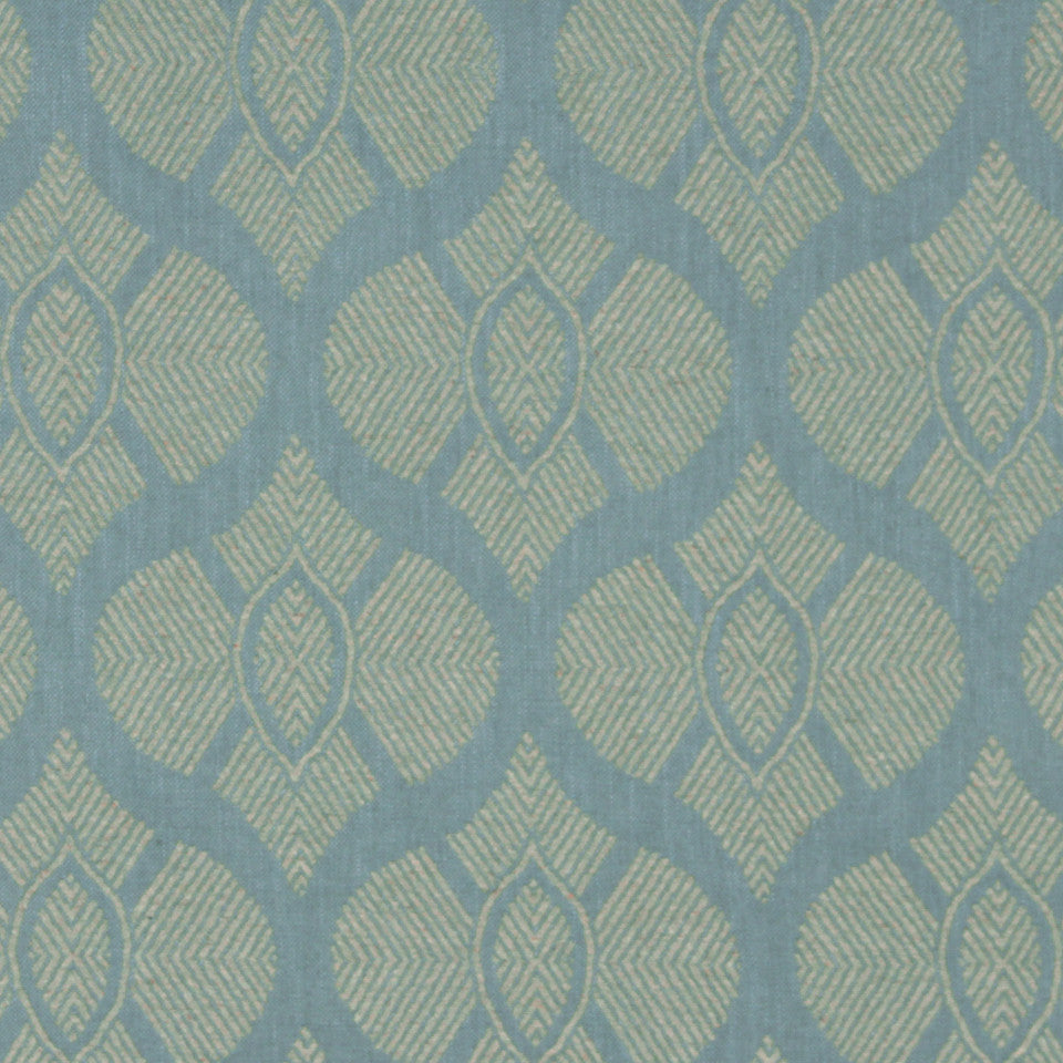 LEMONGRASS-DEW-CORNFLOWER East Bound Fabric - Dew