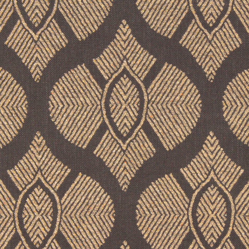 SIENNA-RED EARTH-GRAPHITE East Bound Fabric - Graphite