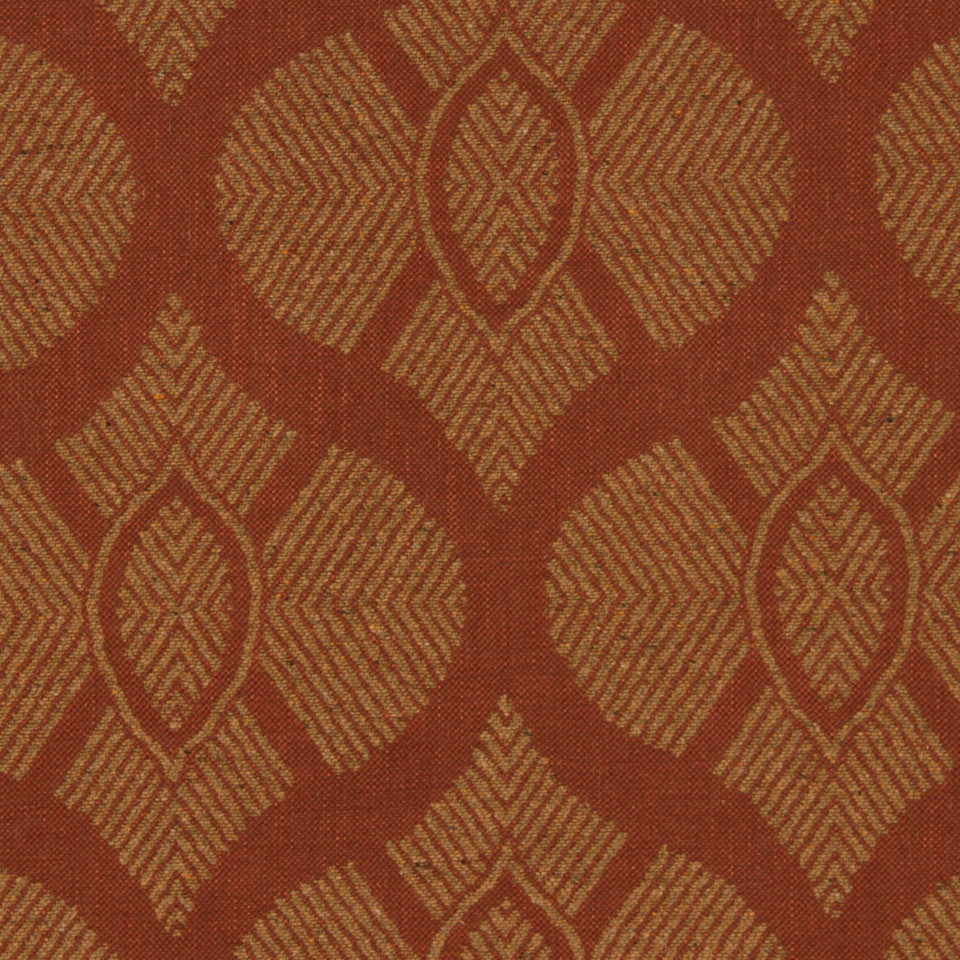 SIENNA-RED EARTH-GRAPHITE East Bound Fabric - Red Earth