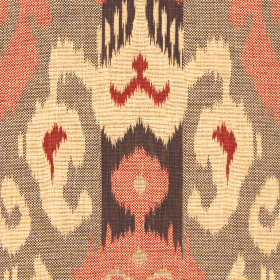 SIENNA-RED EARTH-GRAPHITE Eagle Pass Fabric - Red Earth