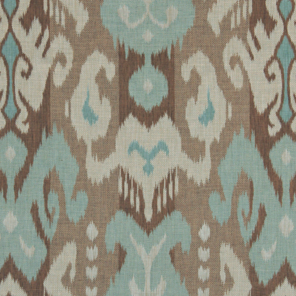LEMONGRASS-DEW-CORNFLOWER Eagle Pass Fabric - Dew