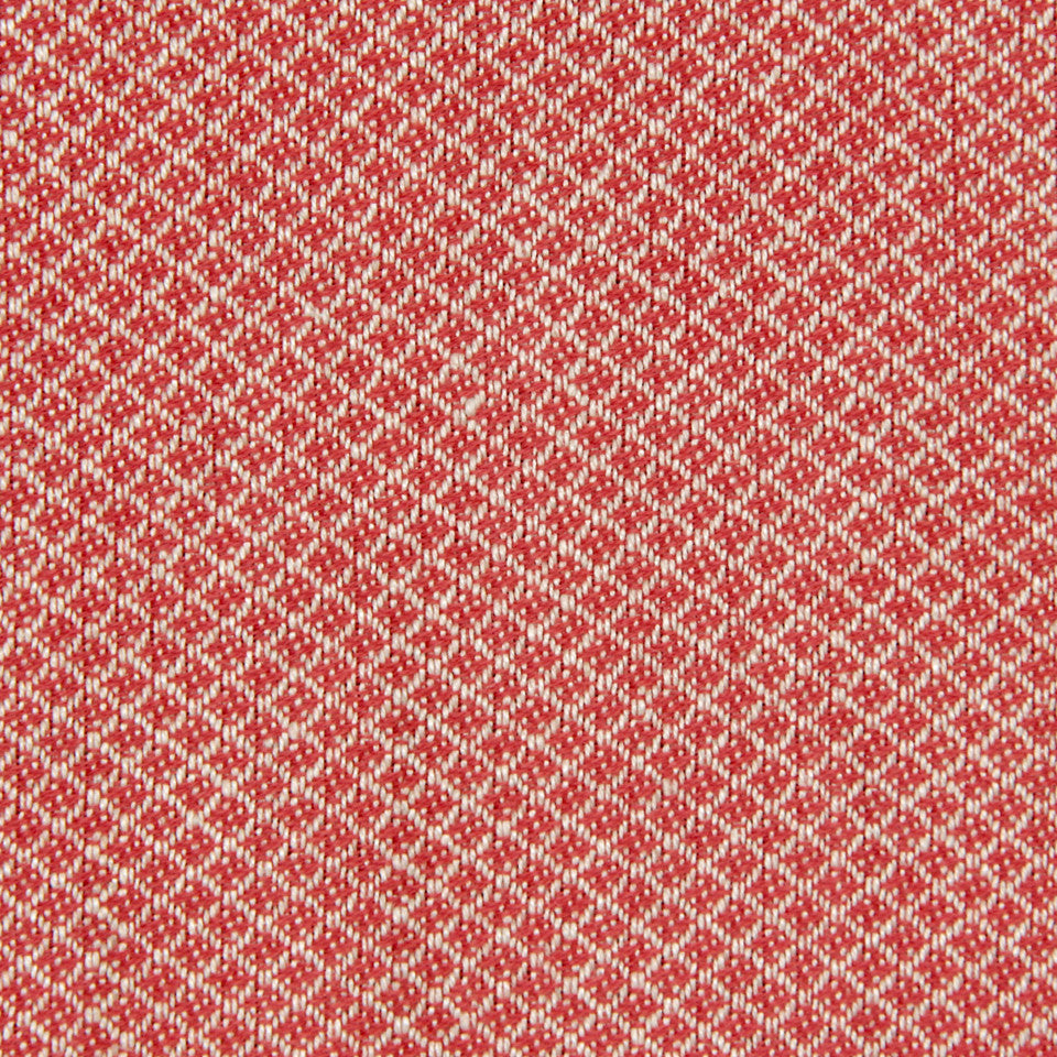 CORAL Emile Diamond Fabric - Coral