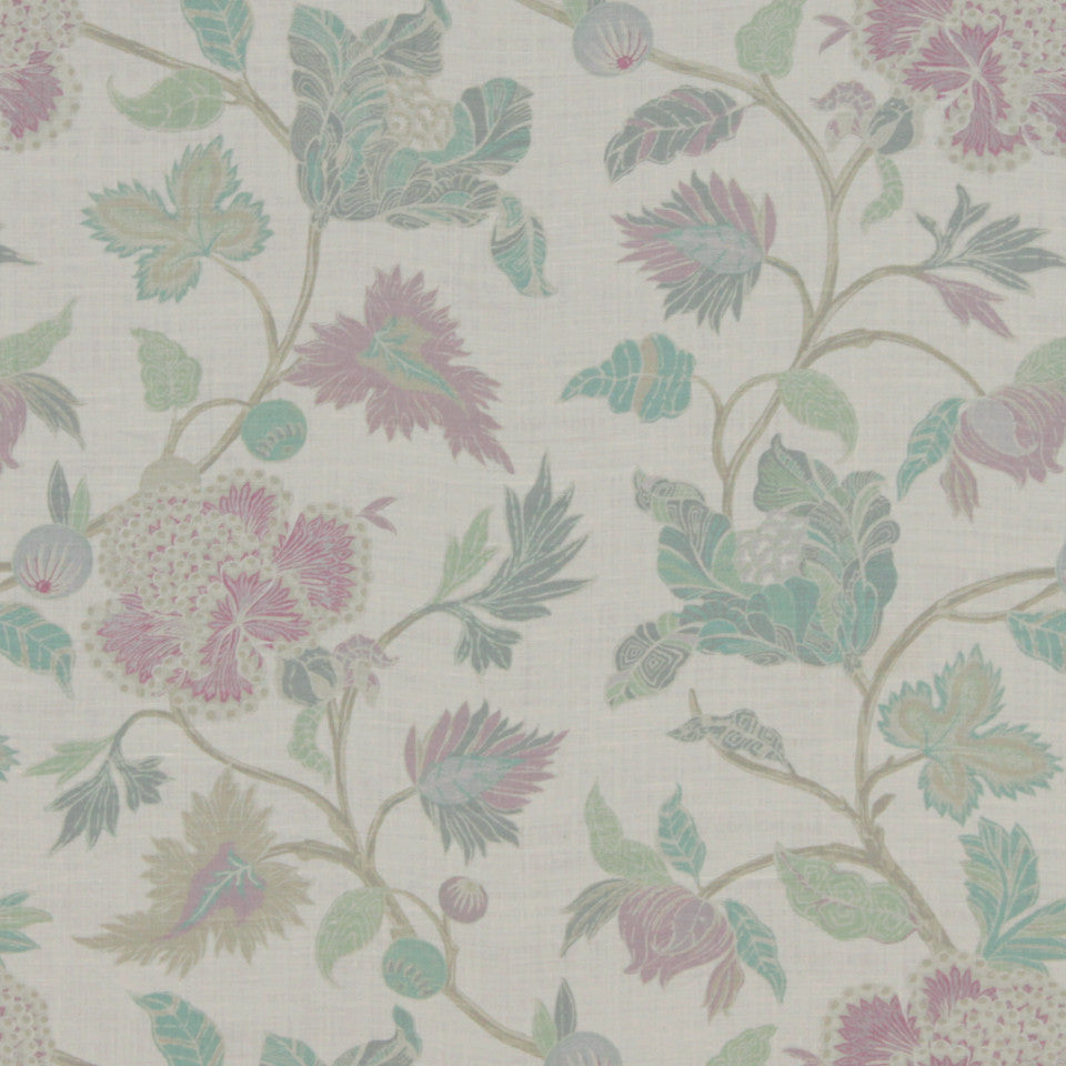 MIDNIGHT GARDEN Enchanted Vine Fabric - Orchid