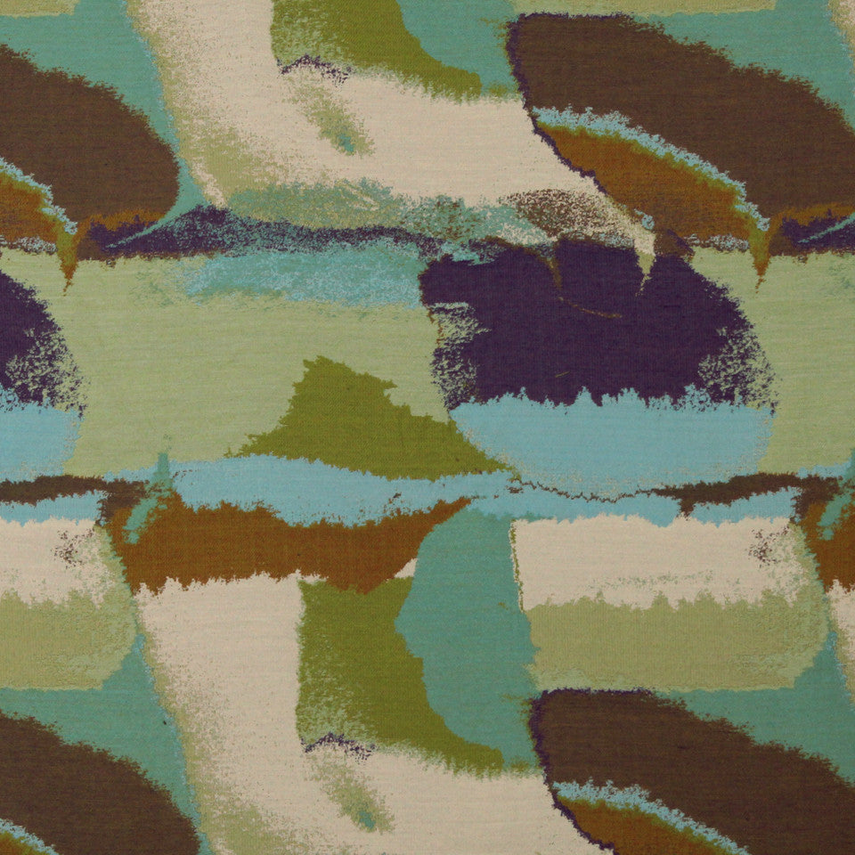 Color Pools Fabric - Jade