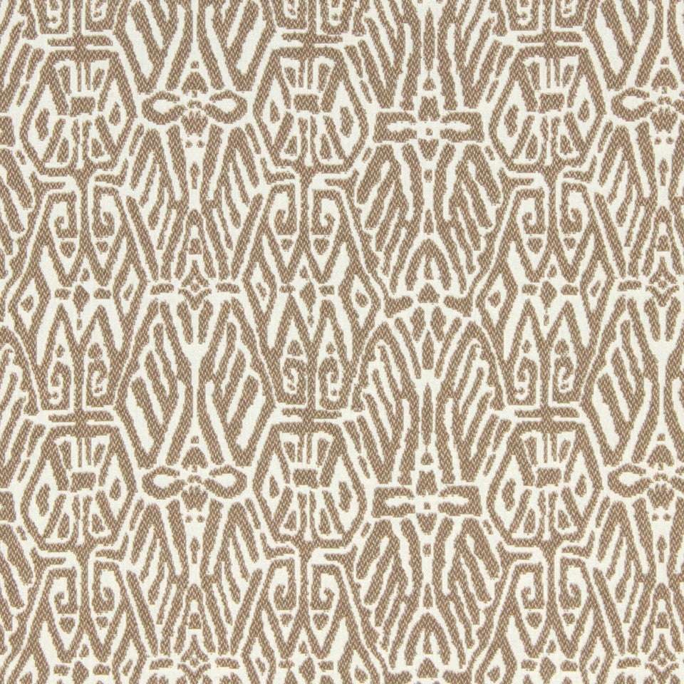 SIENNA-RED EARTH-GRAPHITE Trendy Look Fabric - Twine