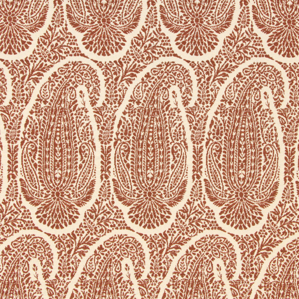 SIENNA-RED EARTH-GRAPHITE Baytown Fabric - Red Earth