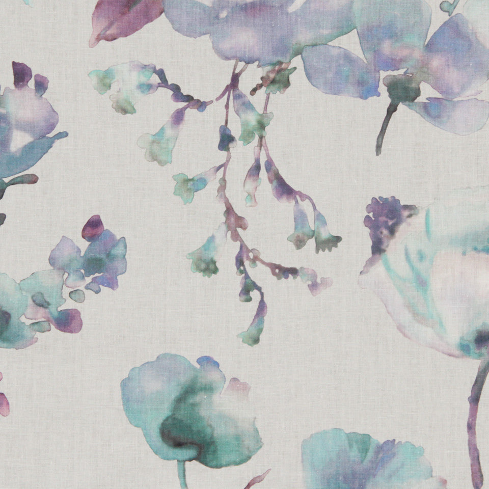 DEW-CORNFLOWER-WISTERIA Calming Effect Fabric - Cornflower