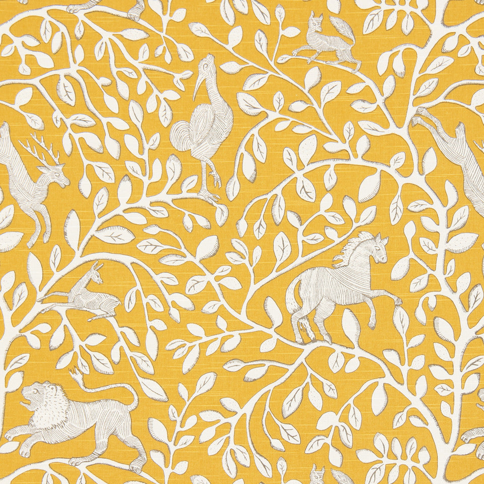 DWELLSTUDIO DECORATIVE MODERN Pantheon Fabric - Dandelion