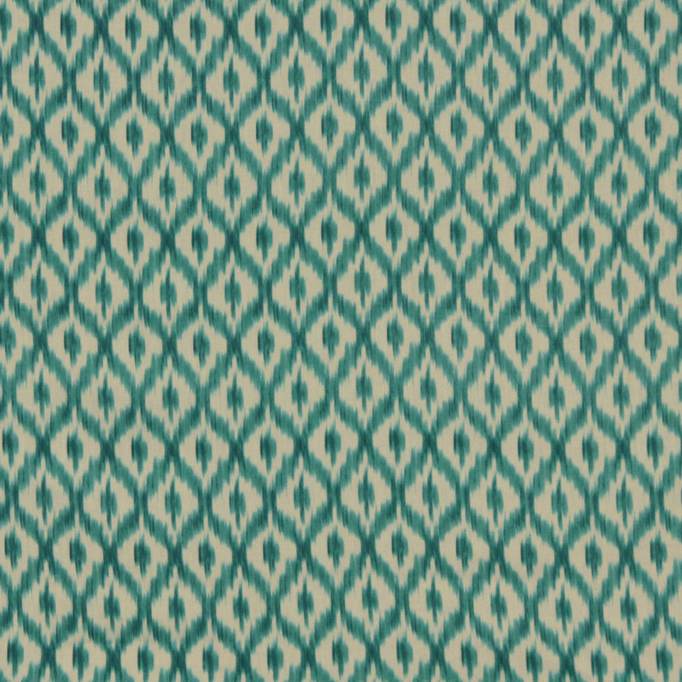 WILLIAMSBURG CLASSICS COLLECTION III Carters Grove Fabric - Turquoise