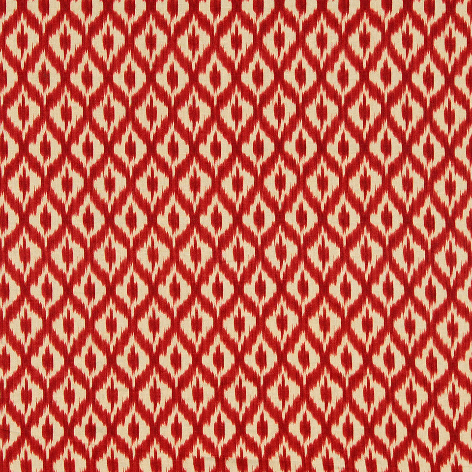 WILLIAMSBURG CLASSICS COLLECTION III Carters Grove Fabric - Cardinal