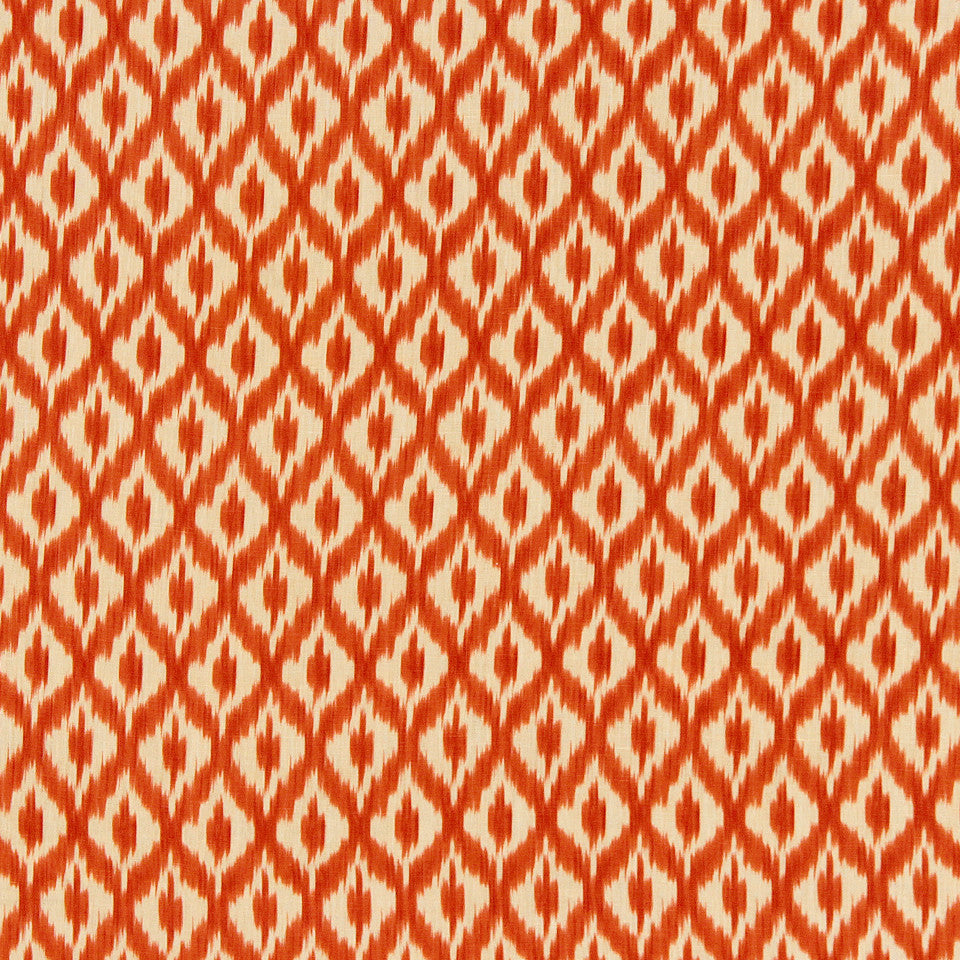 WILLIAMSBURG CLASSICS COLLECTION III Carters Grove Fabric - Mandarin