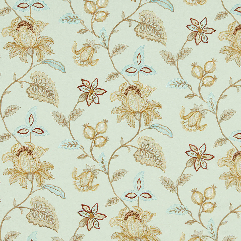 WILLIAMSBURG CLASSICS COLLECTION III Great Hopes Fabric - Mint Julep