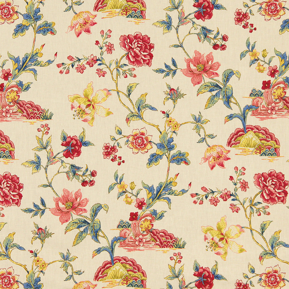 WILLIAMSBURG CLASSICS COLLECTION III Wetherburns Fabric - Colonial