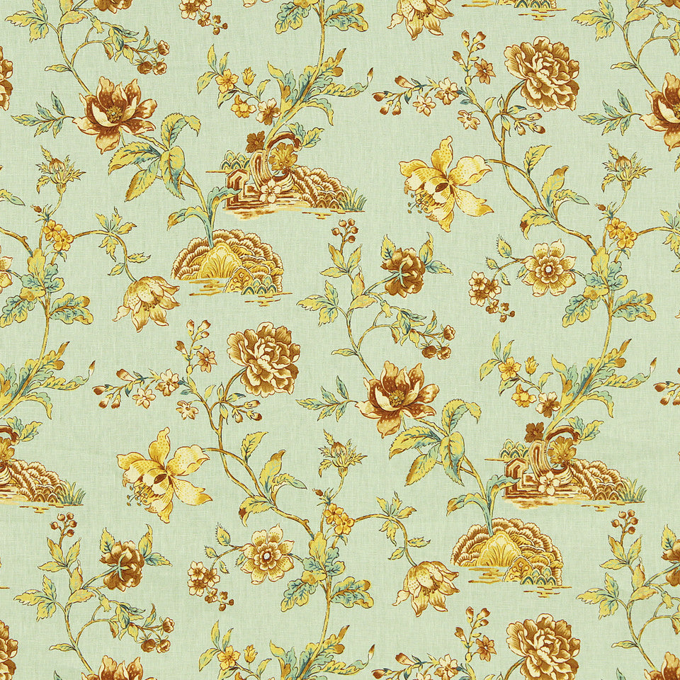 WILLIAMSBURG CLASSICS COLLECTION III Wetherburns Fabric - Mint Julep