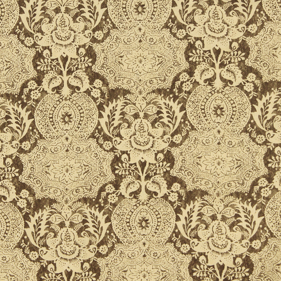 WILLIAMSBURG CLASSICS COLLECTION III Market Square Fabric - Dorian Grey