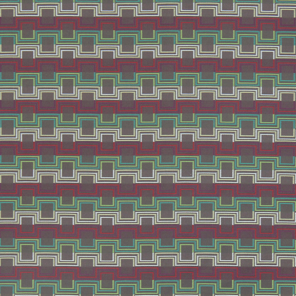 MODERN II Squared Up Fabric - Clover